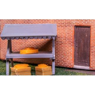 Traditional Market Stalls (Pack of 4)