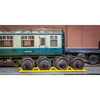 Detailed British Rail Commonwealth Mk1 Coach Wheelset (Includes Wooden Cradle)