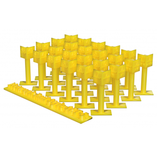 Mile Posts - Network Rail style (Pack of 24)