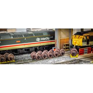 Detailed Class 47 Wheelsets (Includes Wooden Cradle)