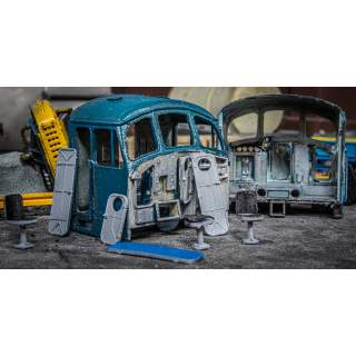 Detailed Scrap Peak Cabs (Available With/Without Rear Bulkhead)