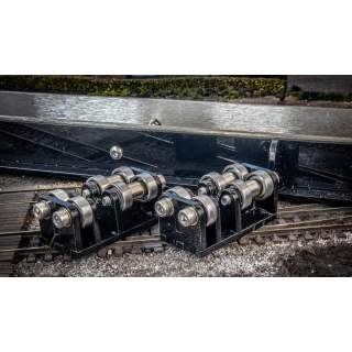 Additional Twin Pack Of Rollers For Rolling Road OO/O Gauge