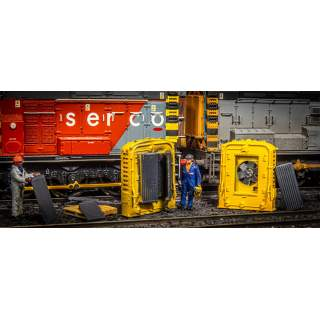 British Rail Class 08/09/13 Front Radiator Nose Housing (Twin Pack + Accessories)