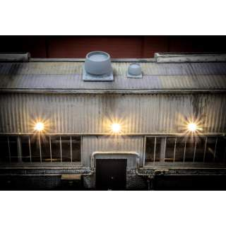 Industrial/Depot Roof Vents (4 Pack, 2 Large & 2 Small)