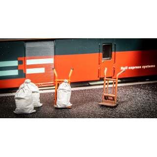 Station Sack Barrows (Pack of 2)